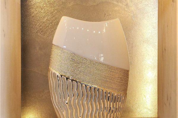 Vase tri texture